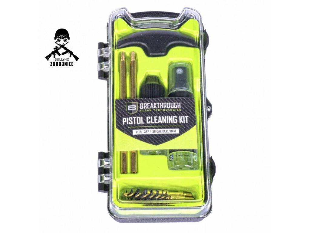 breakthrough vision series pistol pistol cleaning kit 9mm