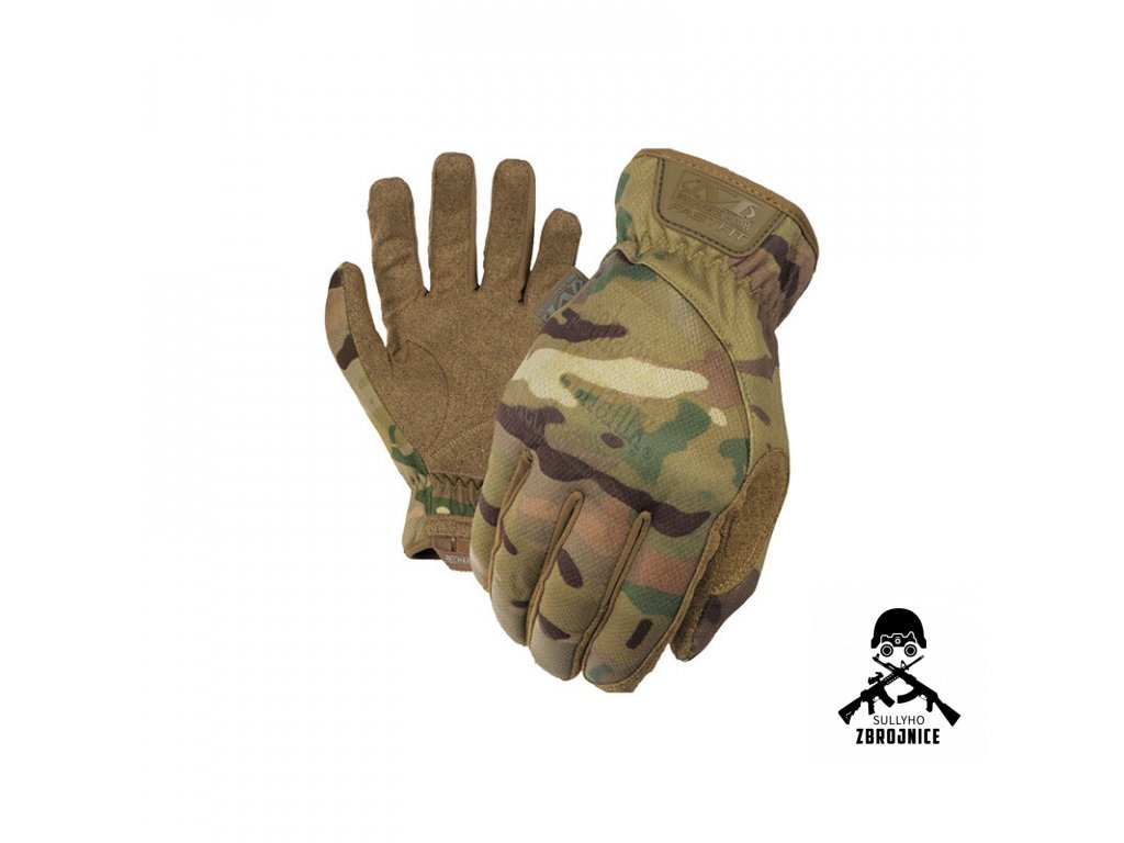 takticke rukavice mechanix fastfit multicam s