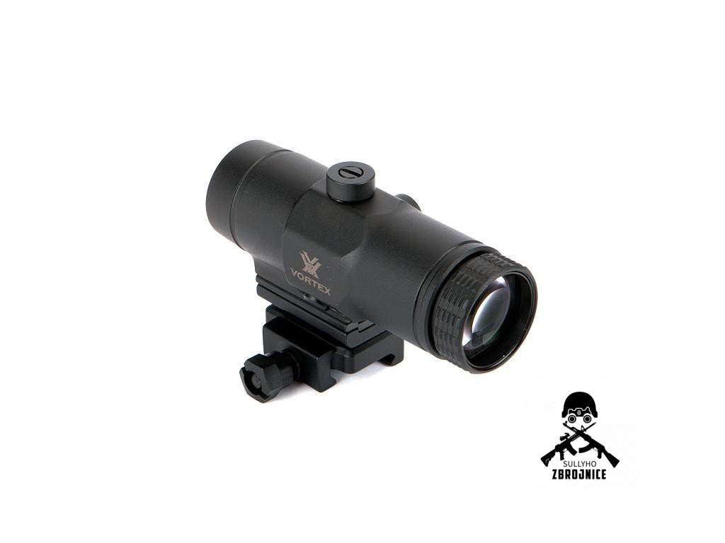 vortex vmx 3t magnifier w flip mount vortex rac vt vmx 3t by vortex optics c40