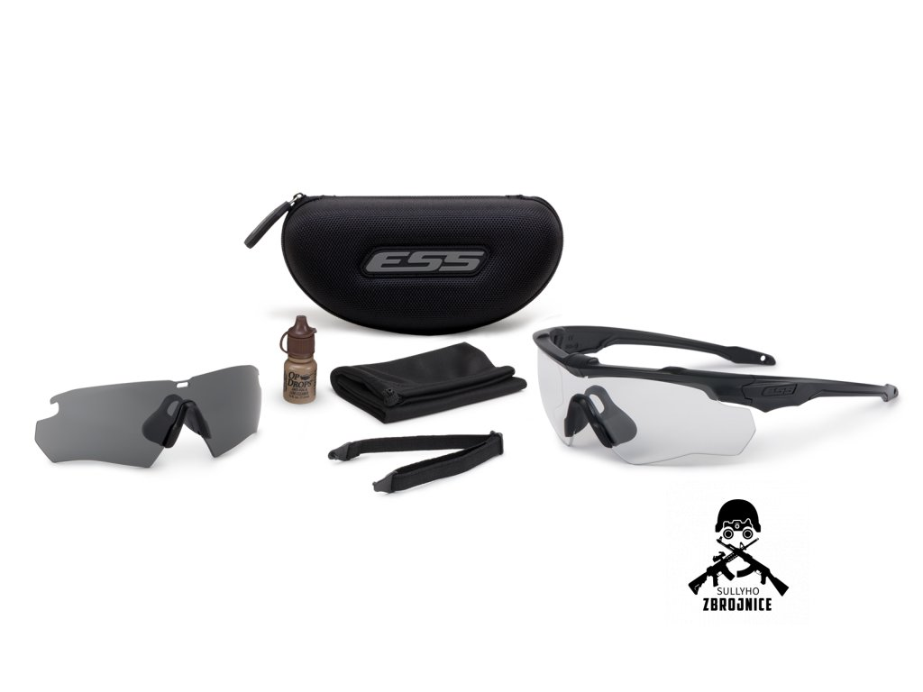 crossblade 2ls black clear smoke gray kit