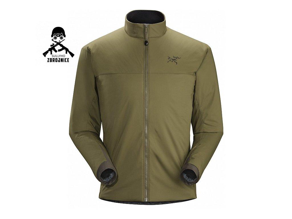 atom lt jacket leaf ranger green