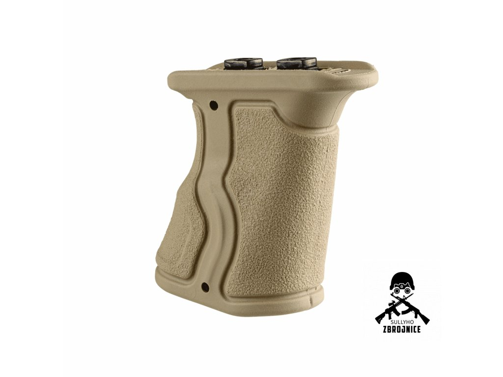 F.A.B Rubberized M LOK® Compatible Short Ergonomic Forward Grip 4