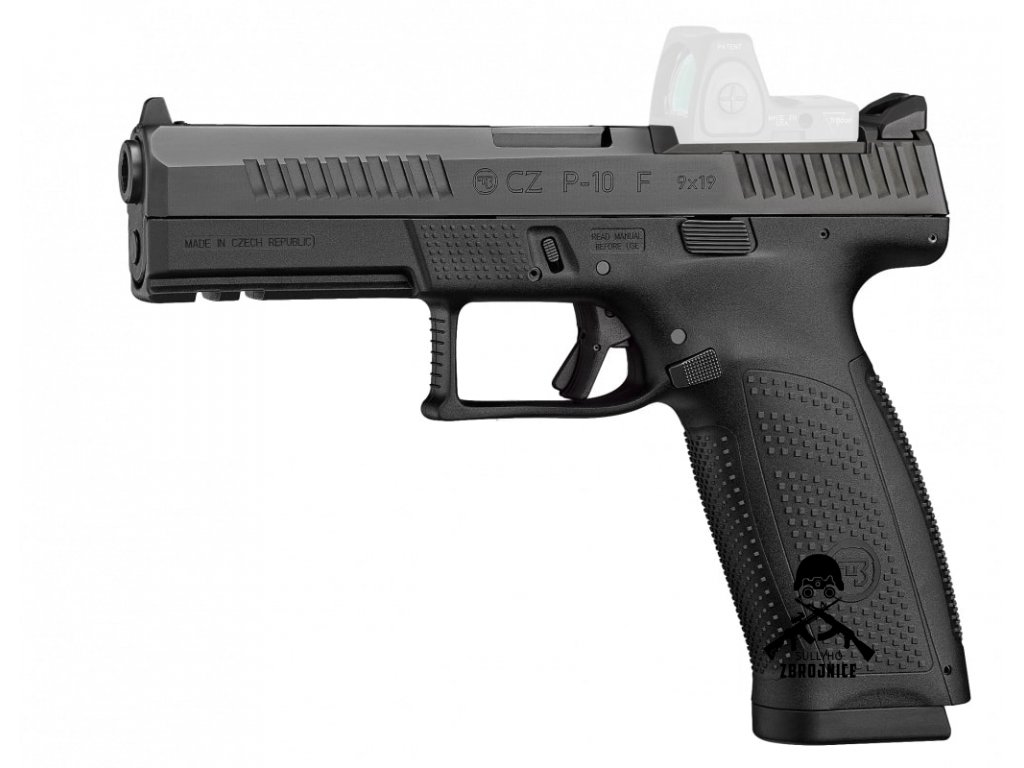cz p 10f left 02 or ghost