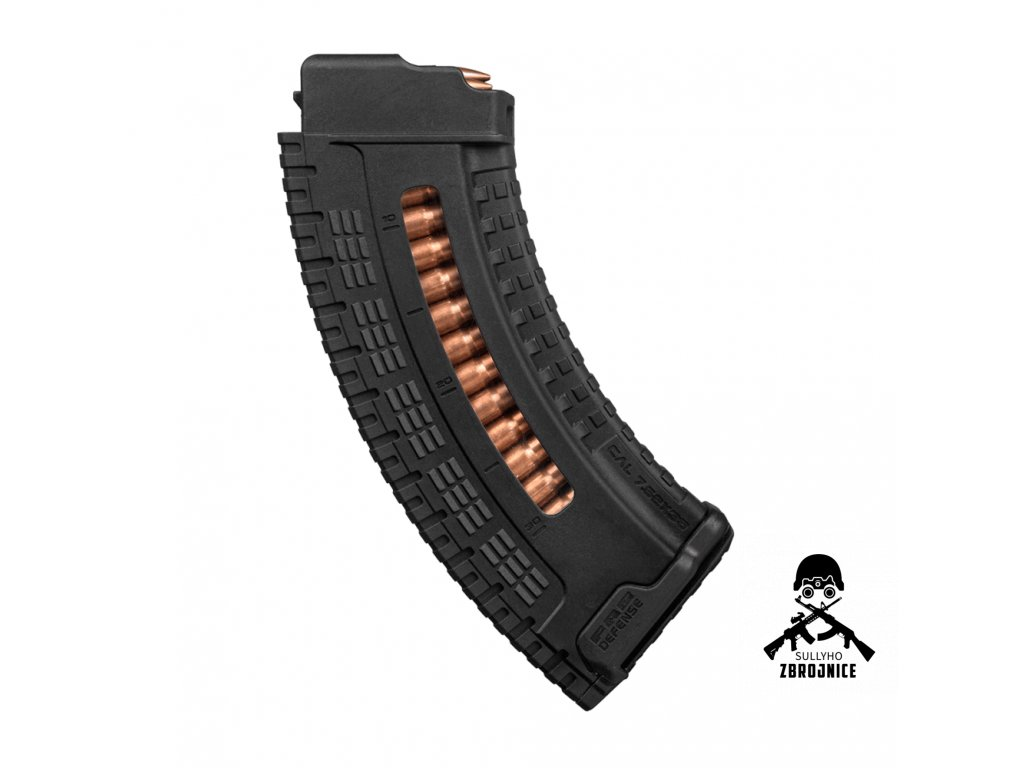 products FAB Defense VZ 58 7.62x39 Polymer Ultimag Magazine 30 Rounds Full 1000x1000