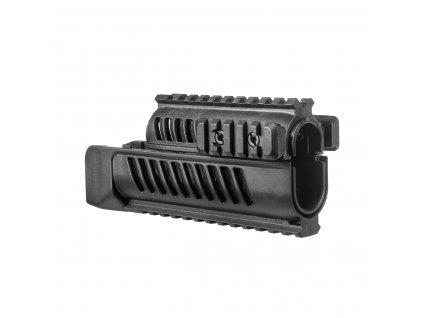 FAB Defense SA Vz.58 Polymer Picatinny Quad Rail System 3D 2