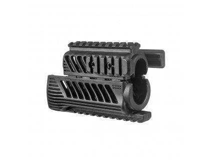 fab defense aks 74u quad rail handguard black3d