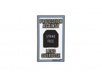 15803 gumova nasivka helikon lead overdose rubber patch