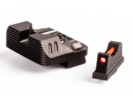 ZEV Technologies Sight Set 230 Fiber Optic Front Combat v3 Black Rear media 2