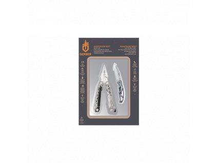 Set multitool GERBER SUSPENSION-NXT + nůž MINI PARAFRAME v dárkovém balení
