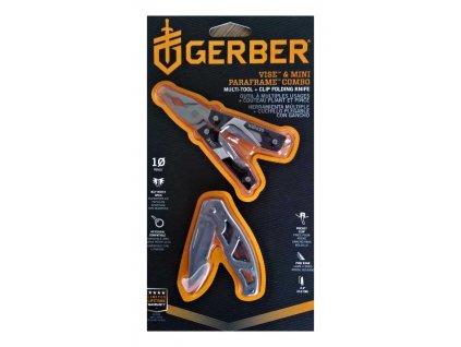 Set multitool GERBER VISE + nůž GERBER MINI PARAFRAME v dárkovém balení