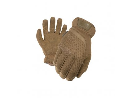 takticke rukavice mechanix fastfit coyote s