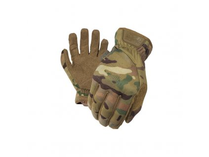 takticke rukavice mechanix fastfit multicam s