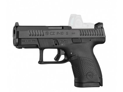 cz p 10s left or ghost