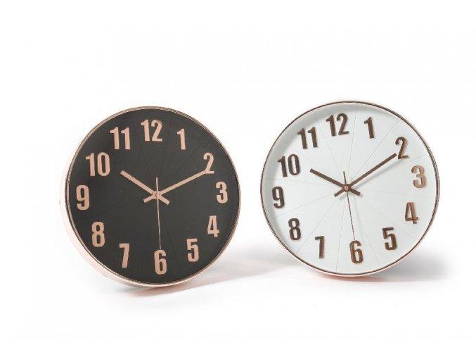 128690 nastenne hodiny o prumeru 30x4 cm ruzne barvy smrstovaci obal
