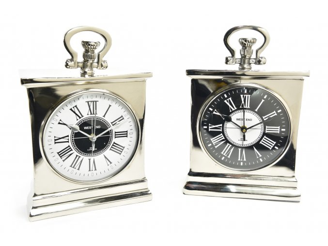 "hliníkové hodiny ""royal"" 20x8xh.30cm"