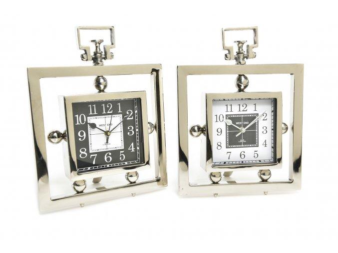 "hliníkové hodiny ""royal"" 25,5x7xh,34cm"