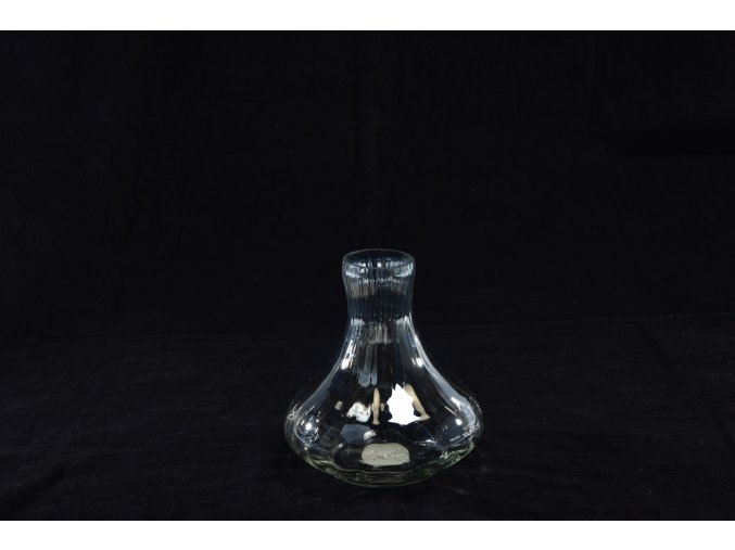 129536 sklenena vaza madeira o prumeru 14 5xv 16cm