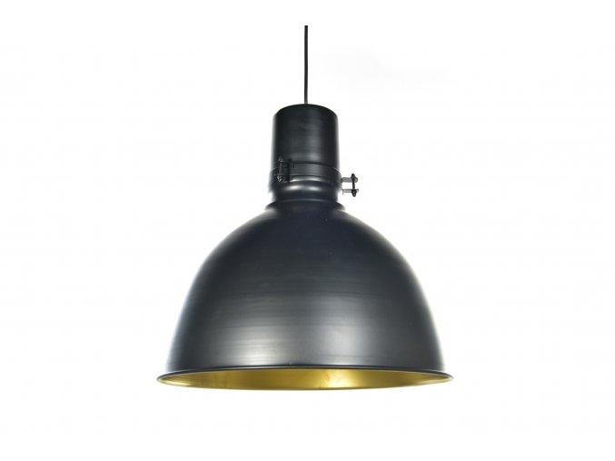 129767 vintage zavesna lampa z kovu o prumeru 41xv 40cm