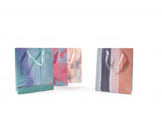 130154 barevny papirovy taska h32x26x10cm s ruznymi dekoracemi