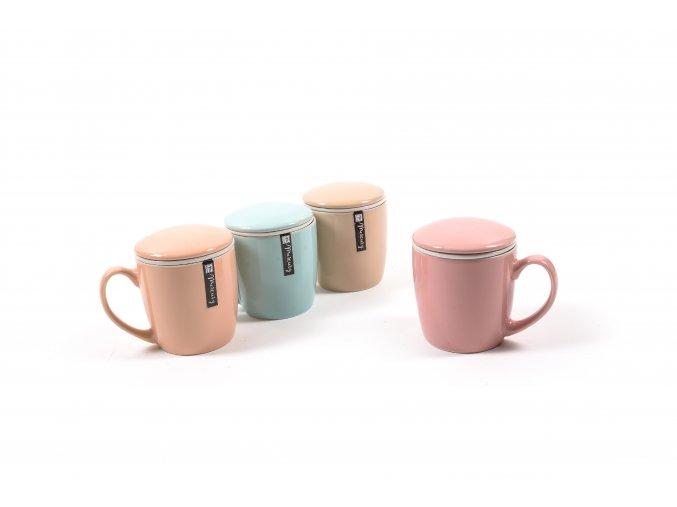 čajová konvice , 12x9xh,9,5cm, různé barvy