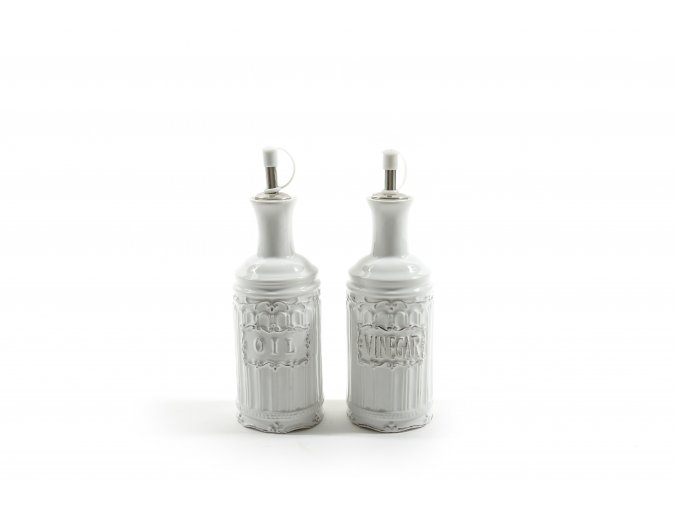 """nádoba na olej a ocet keramika """"romantica"""" o průměru 7xv. 20cm"""