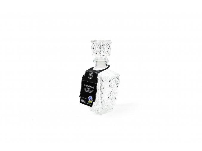 132791 lahev brandy 8x8xh 21cm sklo diamond