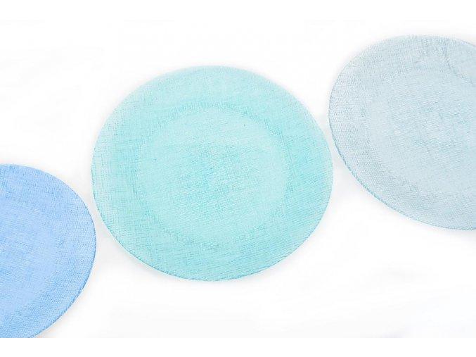 skleněný talíř 32 cm různé barvy
