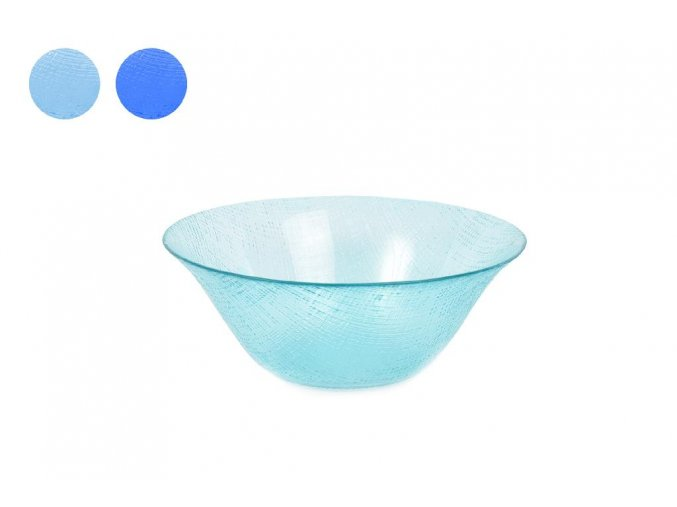 skleněná mísa 11,5 cm různé barvy