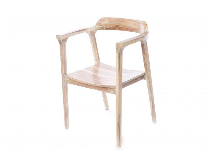 židle z teakového dřeva 51x61xh.85cm