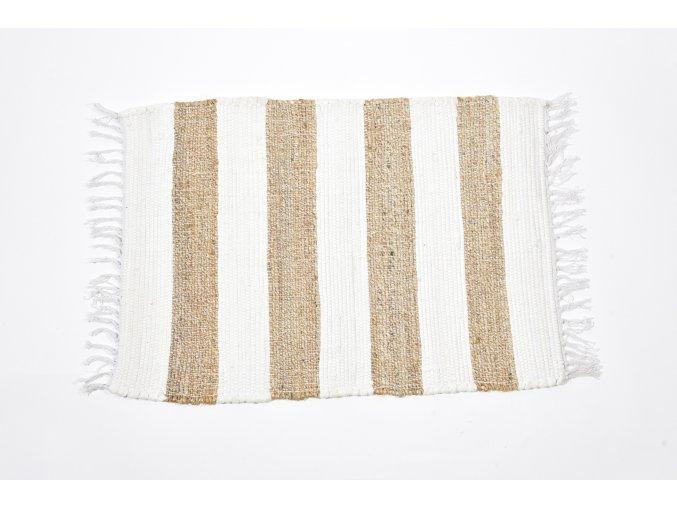 135914 koberec z bavlny a juty 140x200cm