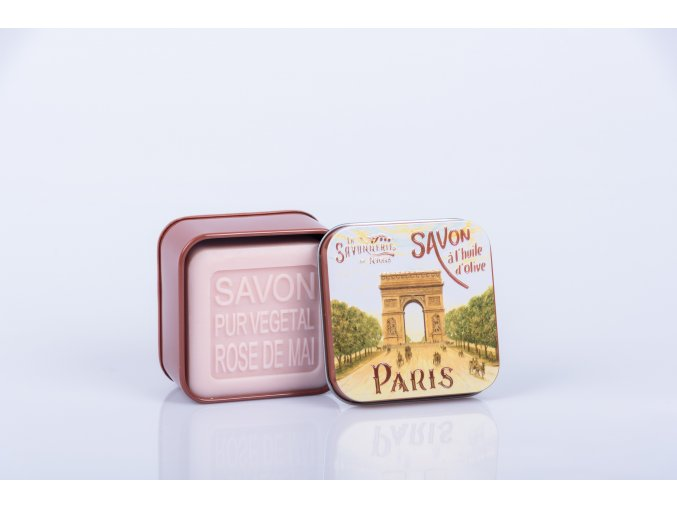 Mýdlo šípková růže 100 gr PARIS 4 Arc de Triomphe