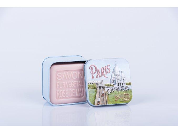 Mýdlo šípková růže 100 gr PARIS 4 Sacré Cœur