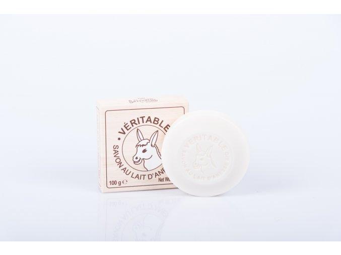 Mýdlo 100 gr Kulaté organické oslí mléko