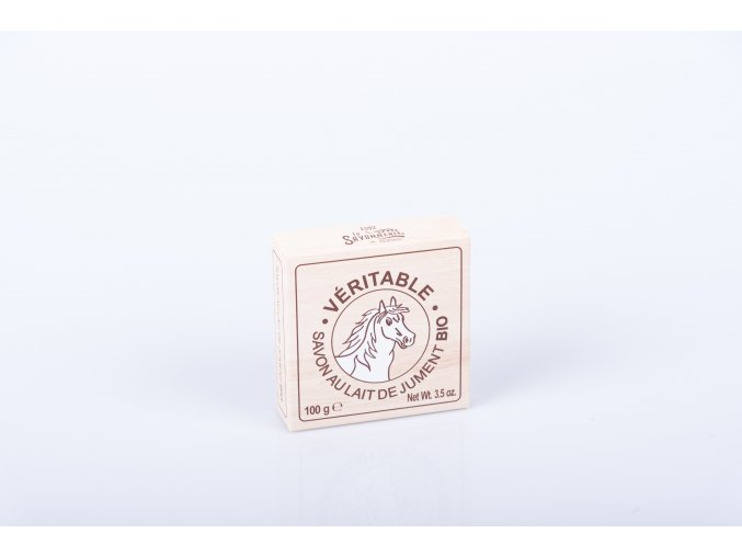 Mýdlo 100 g kulaté organické kobylí mléko