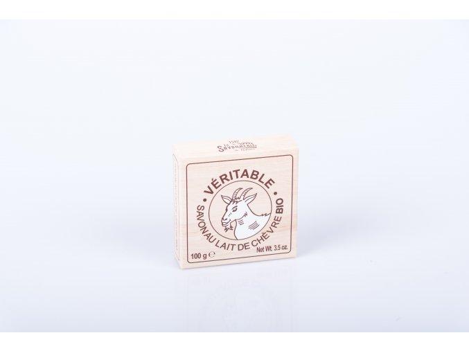 Mýdlo 100 g kulaté organické kozí mléko