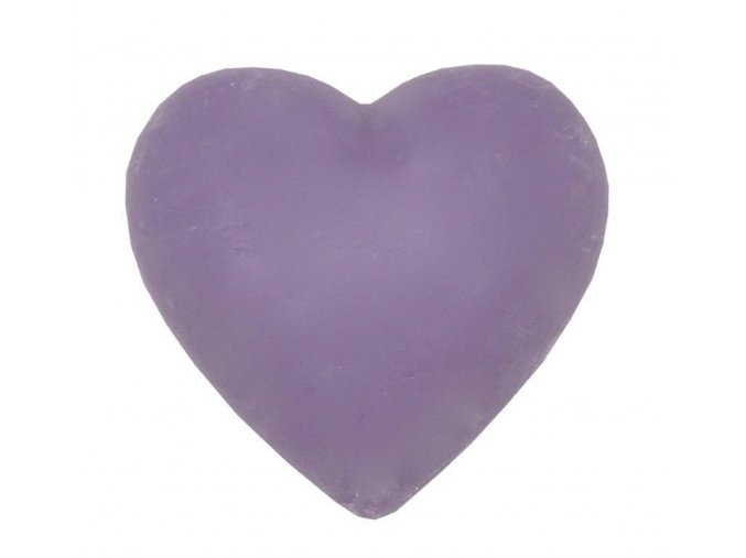 ROSE HEART SOAP 100 GRAMOVÉ LAVENDER