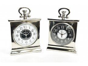 128789 hlinikove hodiny royal 20x8xh 30cm