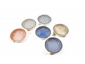 """kulatý pekáč """"kyoto"""" různých barev 20x16xh.4cm"""