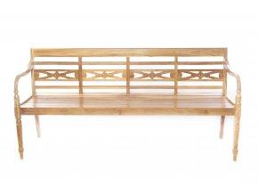 135632 3mistna lavice z teakoveho dreva 180x52xh 87cm