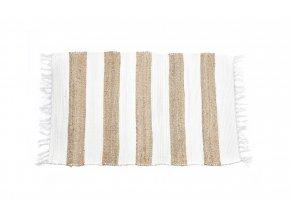 koberec z bavlny a juty 45x75cm