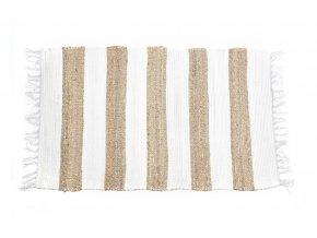 koberec z bavlny a juty 70x120cm