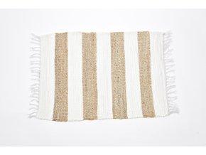 koberec z bavlny a juty 120x180cm