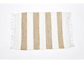 koberec z bavlny a juty 140x200cm