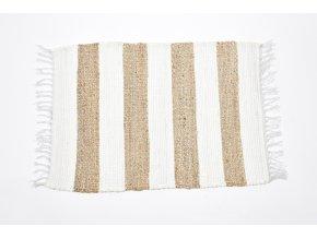 koberec z bavlny a juty 160x230cm