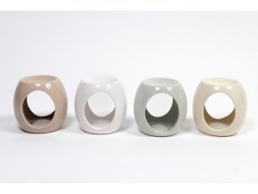 136589 keramicka aromalampa ruznych barev 12x10xh 11 5cm