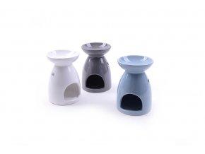 136613 keramicka aromalampa d cm 9xh 13 ruzne barvy