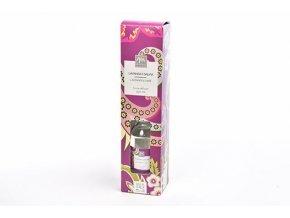 difuzér s 250 ml tyčinkami v dárkové krabičce vůně levandule a šalvěj
