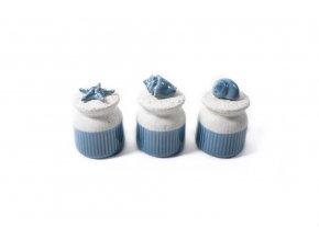 142307 rozmanity porcelanovy morsky dzban o prumeru 8xh 12cm