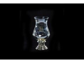 """skleněná svícen/váza 19xv.35,5cm""""madeira"""" průměr"""