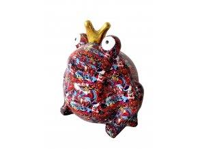 """KERAMICKÁ KASIČKA frog """"FREDDY"""" - GIANT RED (XXL)"""